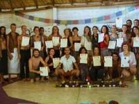 30 дней 200hr YTTC Обучение учителей йоги в Мексике