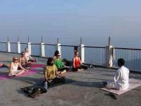 10 дней для начинающих Йога подготовки учителей в Индии