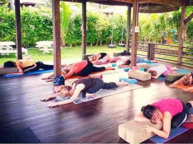 Польза от занятий йога фитнес